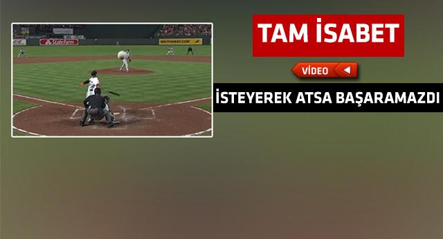 Beyzbol'da eşine az rastlanacak bir olay