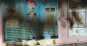 PKK'lıların ateşe verdiği okul eğitime başlayamadı