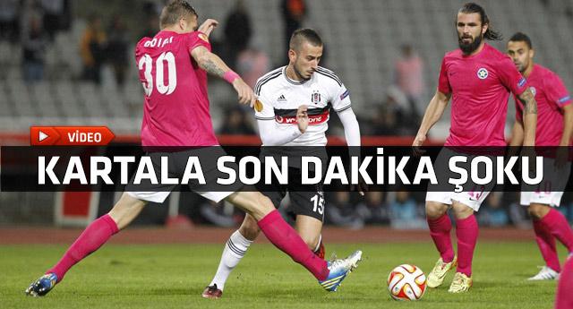 Beşiktaş Asteras Tripolis maçının gollerini seyredin