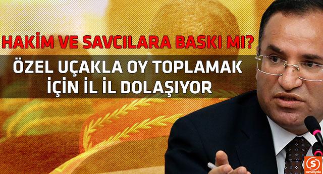 Bakan Bozdağ'dan HSYK seçimlerine ilişkin tartışılacak hareket