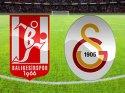 Balıkesirspor - Galatasaray maçında iki gol var (CANLI) İkinci Devre haberi