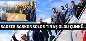 Şanlıurfa sınırına gelen bakanlar taşlandı