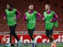 Galatasaray Emirates'de son antremanını yaptı