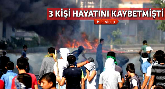 Kobani eylemlerindeki silahlı saldırının görüntüleri ortaya çıktı