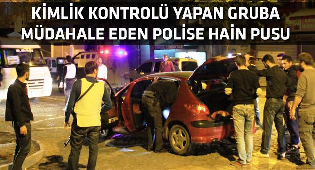 Diyarbakır'da polis ekibine silahlı saldırı