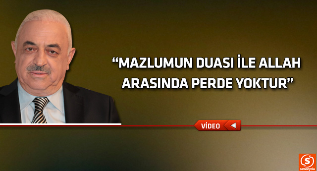 Mustafa Akgül'den sıkıntıların çözümüne Hz.Yusuf örneği