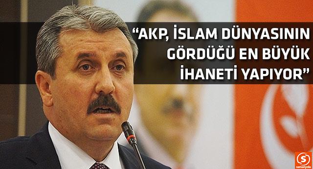 Mustafa Destici: Görevden almalar Öcalan'ın talimatıyla mı yapıldı?