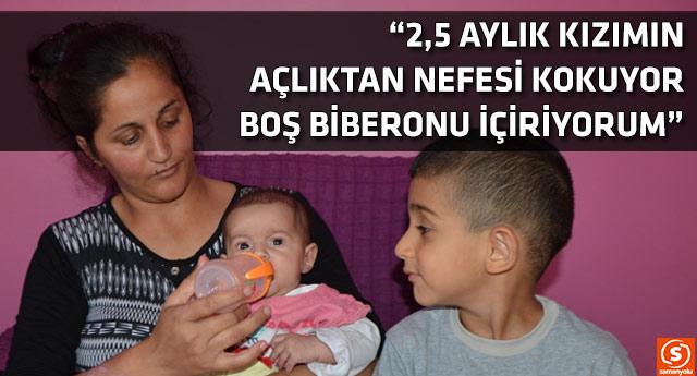 Eşi hapiste olan kadın üç çocuğuyla perişan durumda