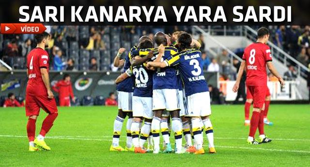Fenerbahçe Gençlerbirliği maçı golleri seyret