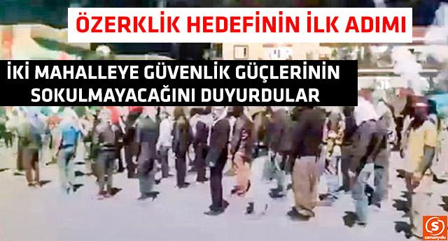 PKK, Cizre'de özerklik ilan etti
