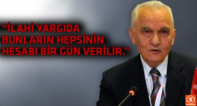 AKP'nin kurucularından Yaşar Yakış'tan çok çarpıcı sözler