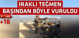 IŞİD ile Irak ordusunun sıcak çatışması - İşte o an