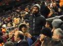 Trabzonspor maçı devam ederken ortalığı karıştıran hareket