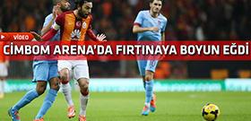 Galatasaray Trabzonspor maçı gollerini seyretmek için tıklayın