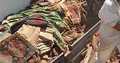 20 bin tarihi vakıf halısı ve kilim çöpe gitti