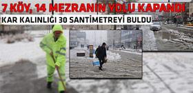 Türkiye beyaza büründü...İşte o manzaralar