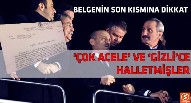 Türkiye'nin günlerdir konuştuğu olayın belgesi ortaya çıktı