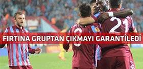 Trabzonspor Metalist Kharkiv'i sahadan sildi