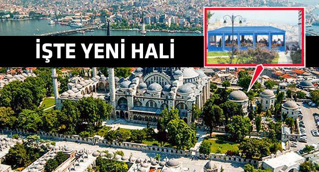 Süleymaniye Camii'ndeki skandal görüntü kaldırıldı