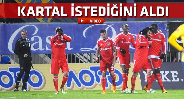 Asteras Tripolis Beşiktaş maçının gollerini seyretmek için tıklayınız