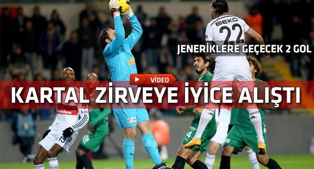 Beşiktaş Akhisar Belediyespor engelini de aştı