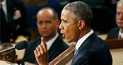 Onlar hariç herkes Obama'yı ayakta alkışladı