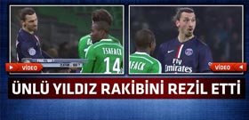 Maçtan çok Ibrahimovic'in bu hareketi konuşuldu!