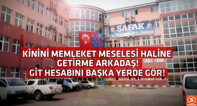 Türk okullarını düşman belleyen Erdoğan'a seslendi