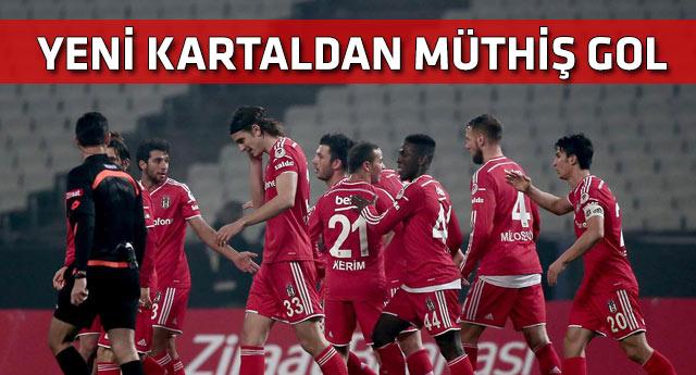 Beşiktaş kupada hız kesmedi
