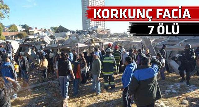Tanker patladı, çocuk hastanesi çöktü