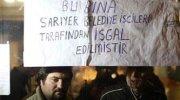 CHP İstanbul İl Başkanlığı'nda zincirli eylem