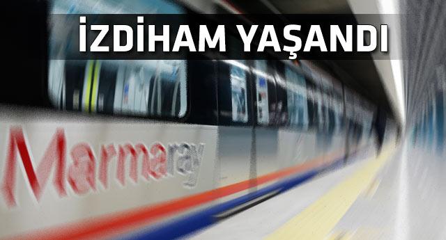 Marmaray'da teknik arıza