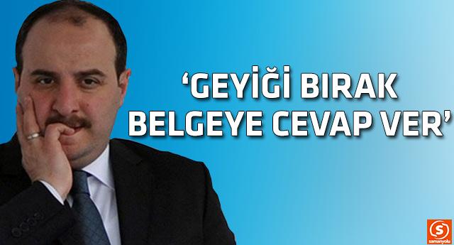 Mustafa Varank ballı maaş sorusuna cevap veremedi