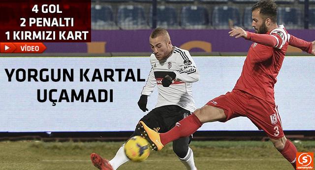Beşiktaş Balıkesirspor maçının gollerini seyredin