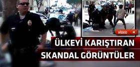 Polislerden gündüz vakti sokak ortasında feci infaz!