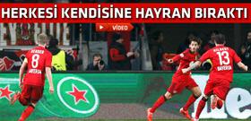 Hakan Çalhanoğlu'ndan muhteşem bir gol daha