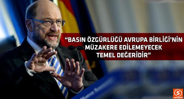 Avrupa Parlamentosu Başkanı Schulz'dan Türkiye'ye uyarı