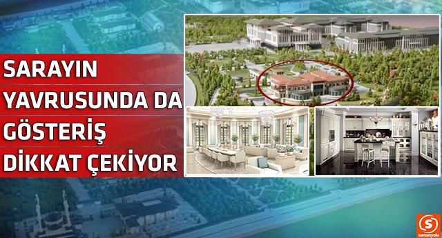 İşte Erdoğan'ın için yapılan yavru saray