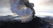 Rusya'da Şiveluç volkanı uyandı, küller 7 kilometreye yükseldi