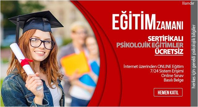 Sertifikalı psikolojik eğitimler ücretsiz! - ADV