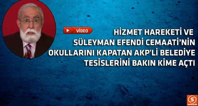 AKP'li belediyeden sınırsız destek!