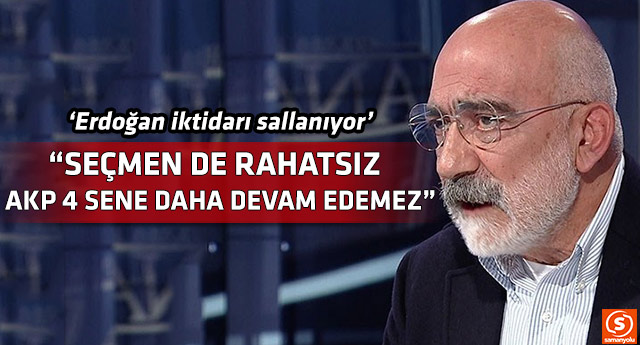 Ahmet Altan'dan çarpıcı AKP yorumu