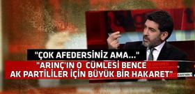 Arınç'ın sözleri üzerinden AKP'yi fena karıştıracak yorum!