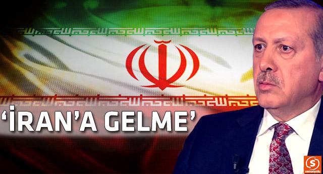 Erdoğan'ın ikinci evim dediği İran'dan şok çağrı