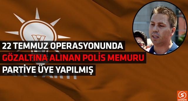 AKP İlçe Başkanlığı'ndan büyük skandal