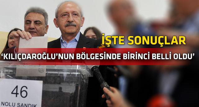 CHP ön seçimlerinde oy kullanma işlemi sona erdi