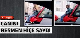 İstanbul'un göbeğinde akıllara zarar yolculuk!