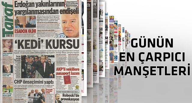 Taraf gazetesinden bomba 'kedi' manşeti
