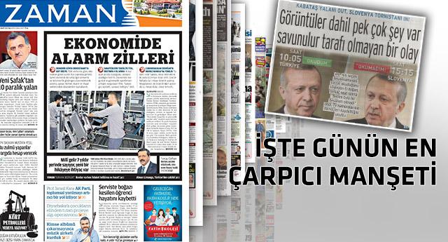 Erdoğan'ın 'U' dönüşü gazetelere bakın nasıl yansıdı!