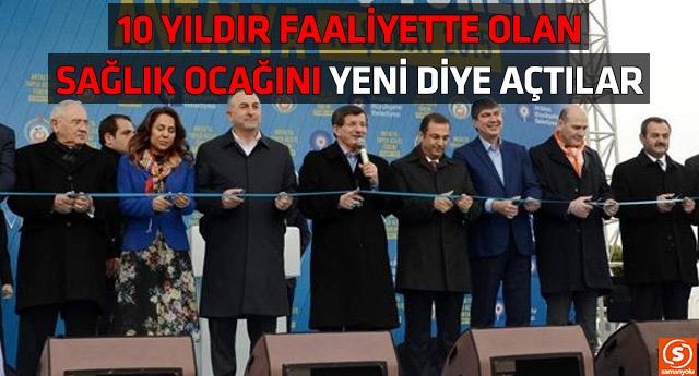 AKP'den muhteşem 'soyunma odası' açılışı
